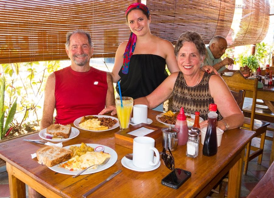 Granada desayuno, Nicaragua tipico