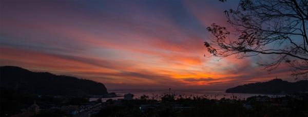 San Juan del Sur puesta del sol