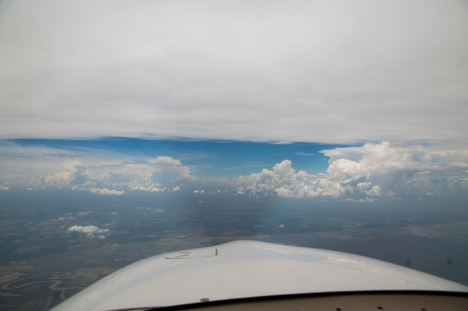 Fort Smith Arkansas convective line