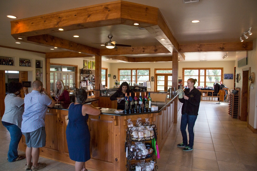Pedernales winery