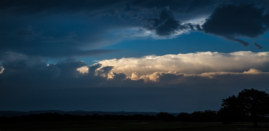 Stonewall, TX convective line