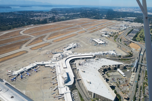 Floats over SeaTac