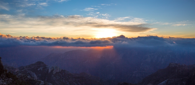 Copper Canyon sunrise