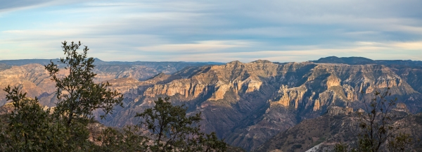 Copper Canyon afternoon light