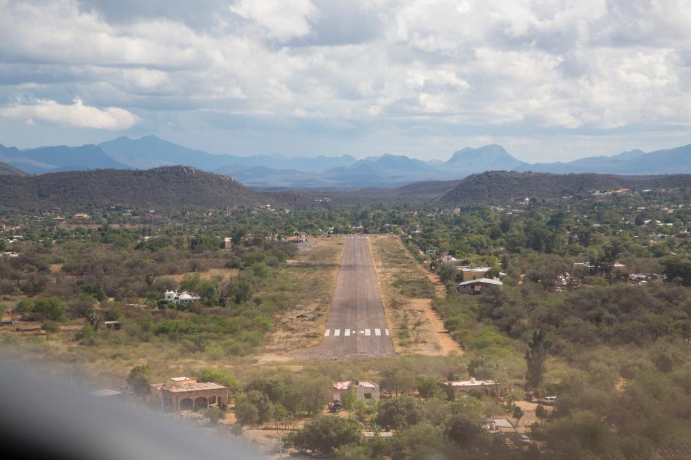 Álamos runway 13