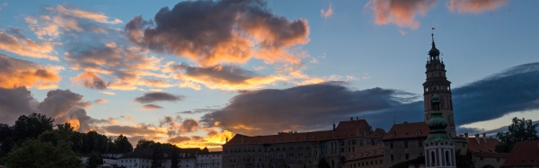 Cesky sunset