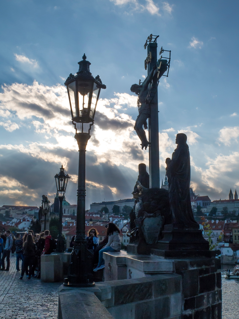 Charles Bridge crucifix