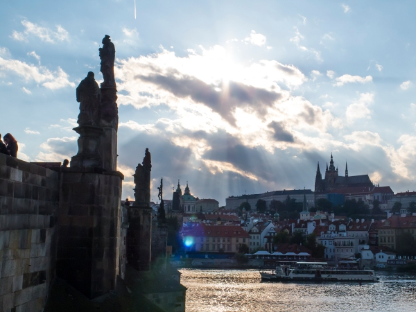 Charles over the Vltava