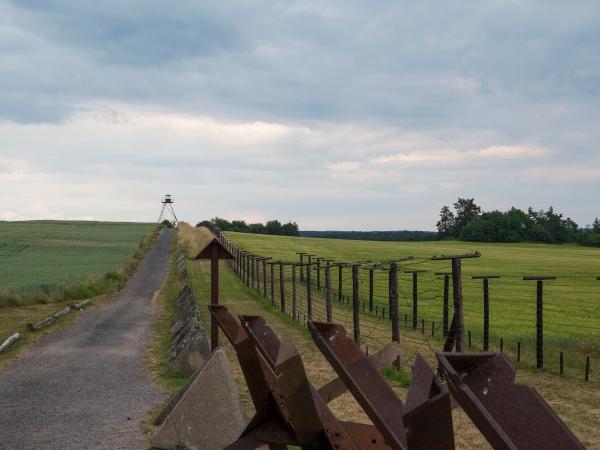 Iron curtain reminder the Austrian frontier