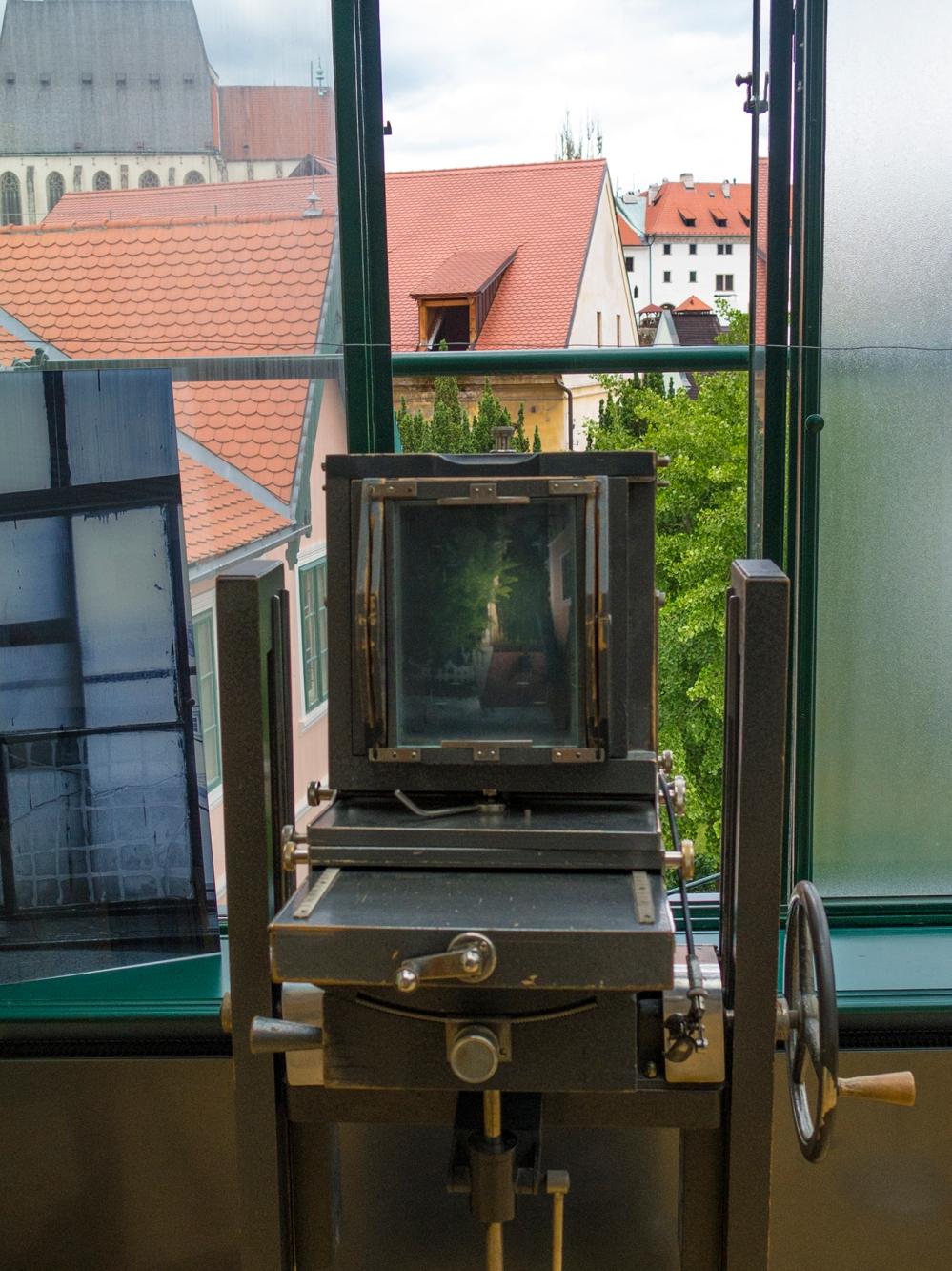 Josef Seidel view, Cesky Krumlov