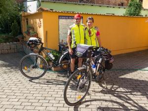 The beginning of a Czech Republic bicycling adventure