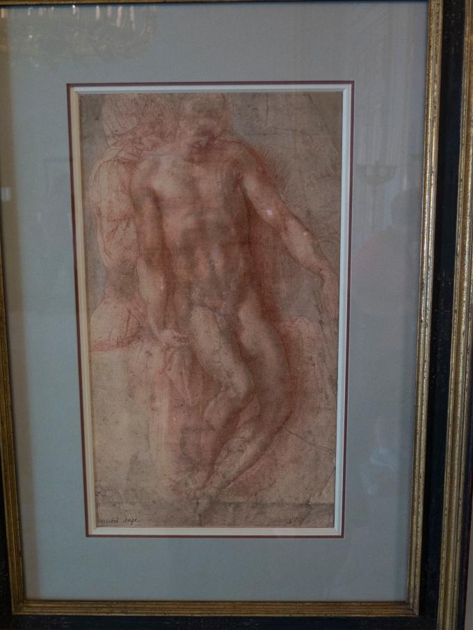 Michelangelo Pieta drawing, Vienna Albertina