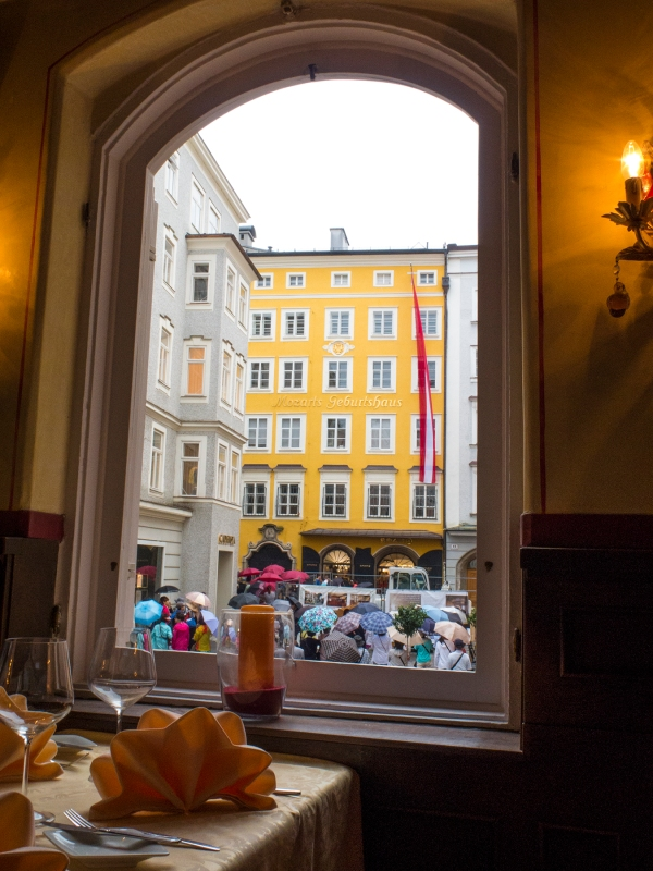 Mozart's birth house