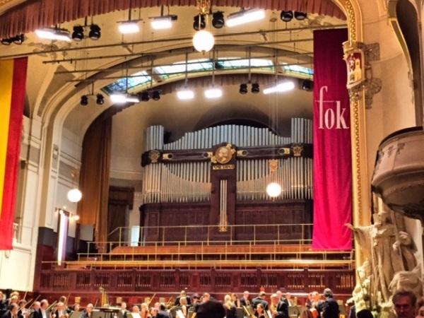 Prague symphony hall