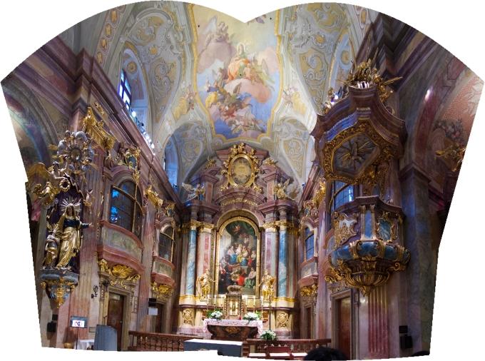 St Ana Kirche panorama