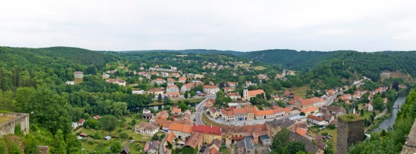 Vranov from the Chateau