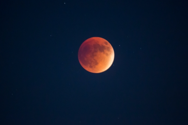Blood super moon