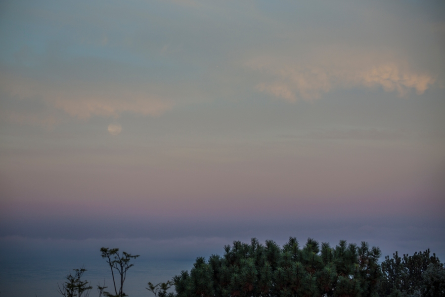 Descending into dawn