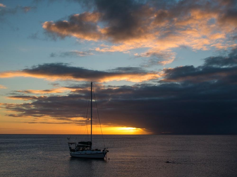 Taveuni sunset