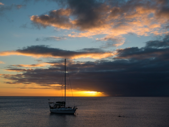 Taveuni sunset