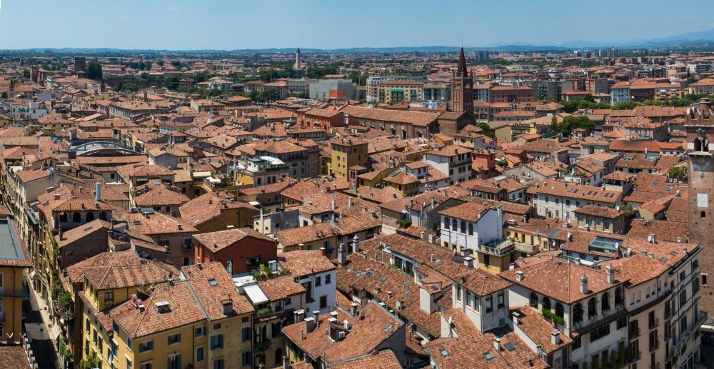 From Verona's clocktower
