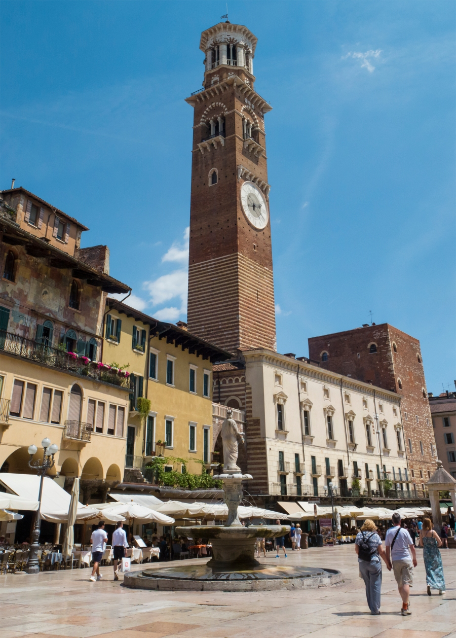 Verona clocktower