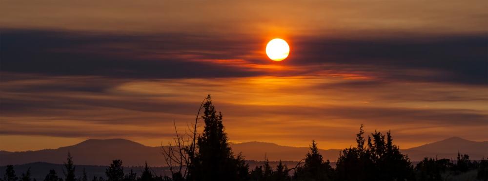 Eclipse sunrise